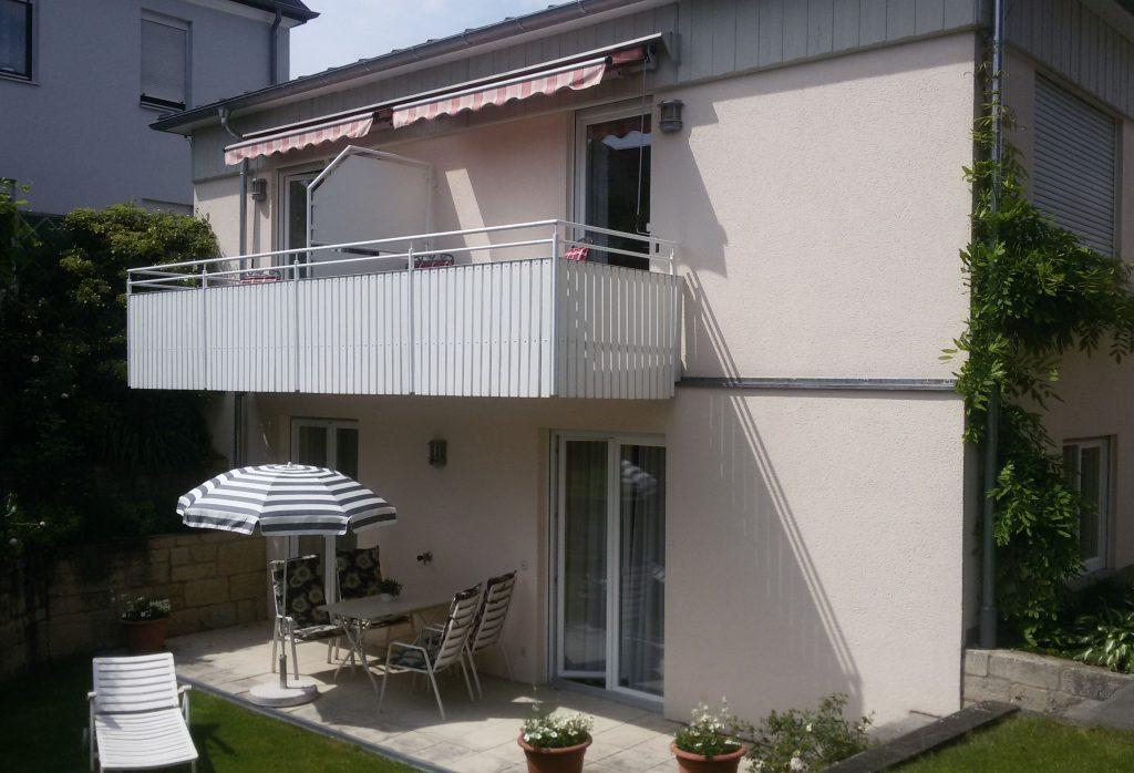 Ferienwohnung Gästehaus Pfeiffer (Bad Mergentheim). Ferienwohnung 2 (50 qm) mit Südbalkon, kostenfreies  (2661056), Bad Mergentheim, Taubertal, Baden-Württemberg, Deutschland, Bild 3