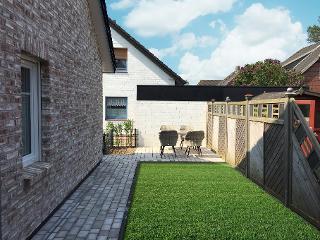 Terrasse + Garten komplett eingezäunt