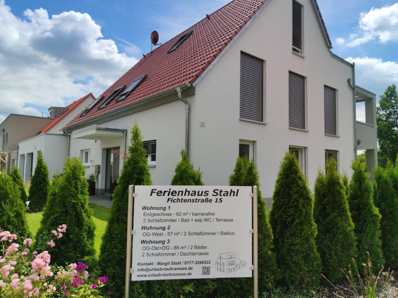 Ferienhaus Stahl (Muhr am See). Ferienwohnung (85q Ferienwohnung