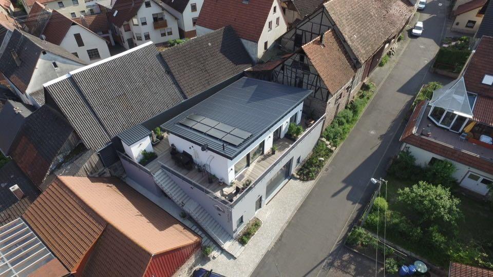 Ferienhaus Penthouse Tauberblick (Tauberbischofsheim). Penthouse Tauberblick Terrasse (2710383), Tauberbischofsheim, Taubertal, Baden-Württemberg, Deutschland, Bild 10