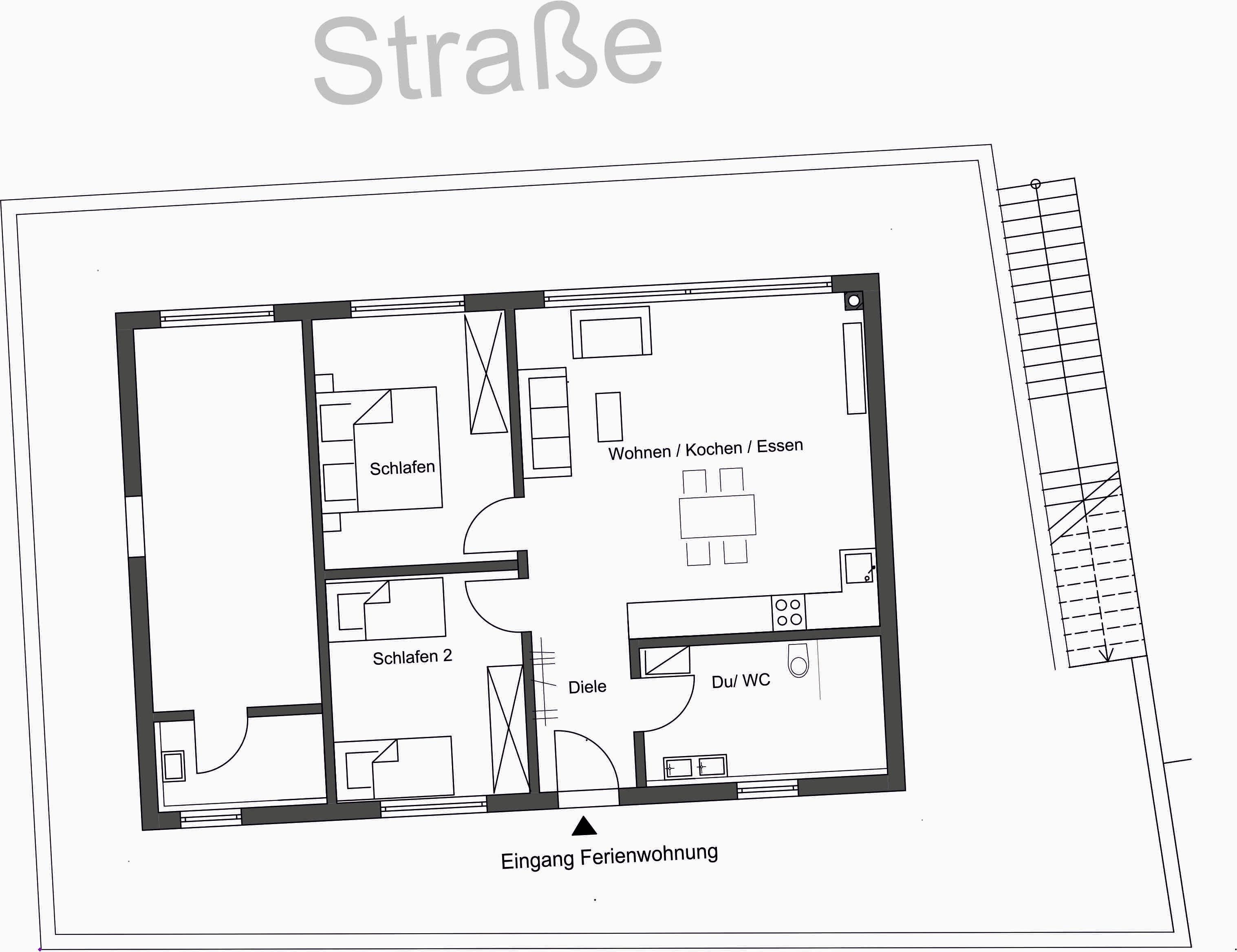 Ferienhaus Penthouse Tauberblick (Tauberbischofsheim). Penthouse Tauberblick Terrasse (2710383), Tauberbischofsheim, Taubertal, Baden-Württemberg, Deutschland, Bild 21