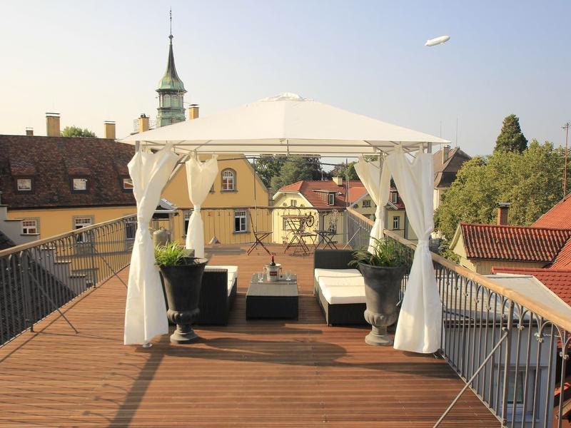 Terrasse, Altstadthaus Lindau, Lindau