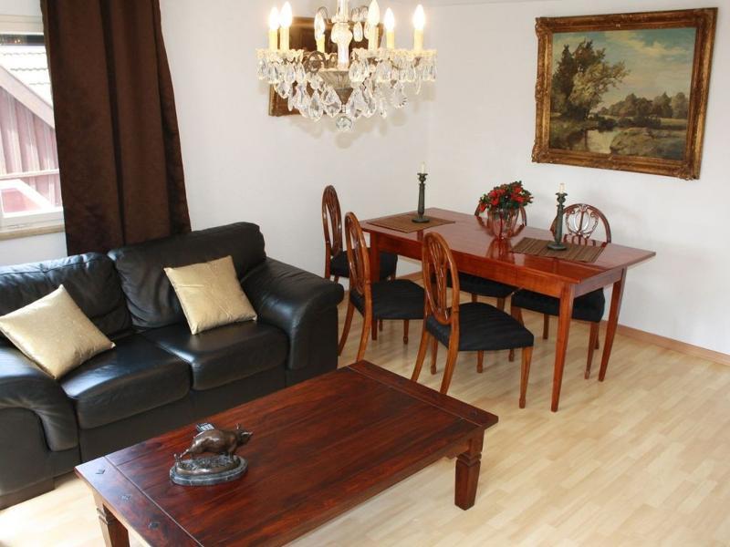 Wohn- und Essbereich, Altstadthaus Lindau, Lindau
