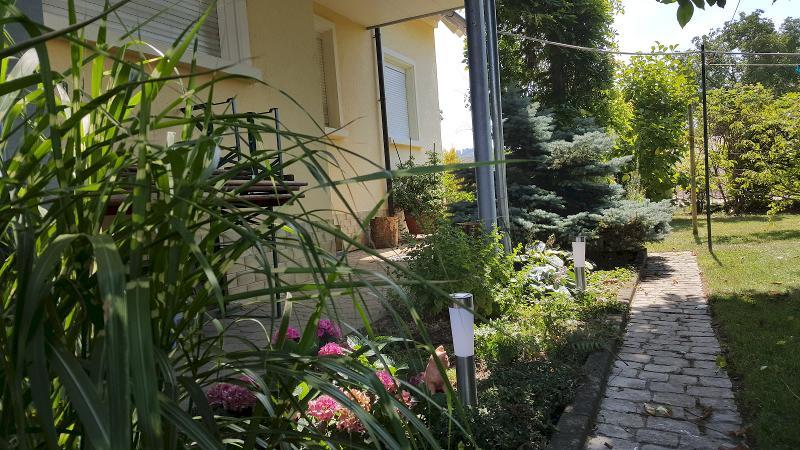 Garten, Ferienwohnung Miezerle, Steißlingen