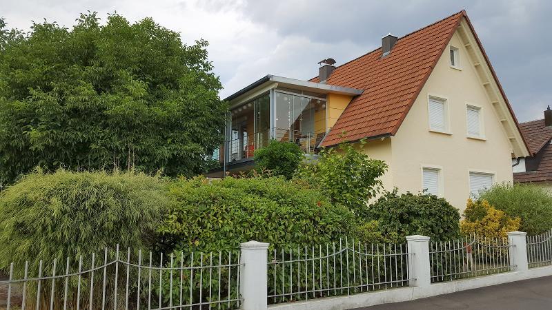 Hausansicht, Ferienwohnung Miezerle, Steißlingen