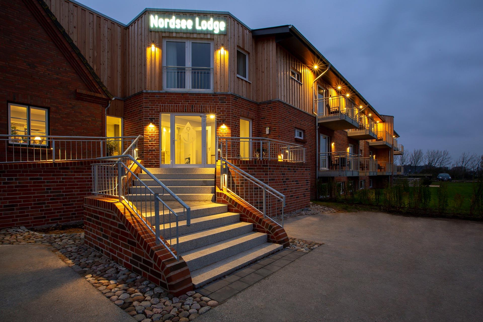 Hotel Nordsee Lodge Doppelzimmer mit Balkon