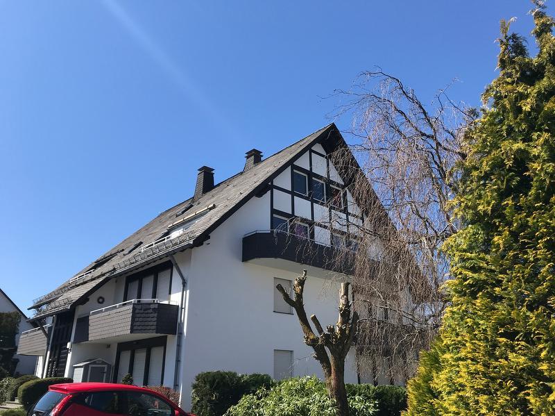 Das Haus - die oberen 2 Stockwerke empfangen Sie!