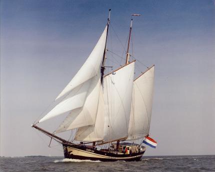 """Segelschiff """"Zuiderzee"""" Mehrtagestörn von der Sail Bremerhaven nach Kiel 23.08.- 28.08.2020 in einer Dreibettkabine"""