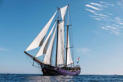 """Segelschiff """"Twister"""" Mehrtagestörn von der Sail Bremerhaven nach Kiel 23.08.- 28.08.2020 in einer Vierbettkabine"""
