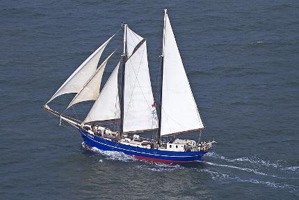 """Segelschiff """"Zephyr"""" Mehrtagestörn von Amsterdam zur Sail Bremerhaven 16.08.- 19.08.2020 in einer Vierbettkabine"""