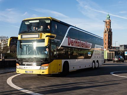 Ticket HafenBus ab/bis Wurster Nordseeküste Familie Mini (1 Erw. + 1 Kind)