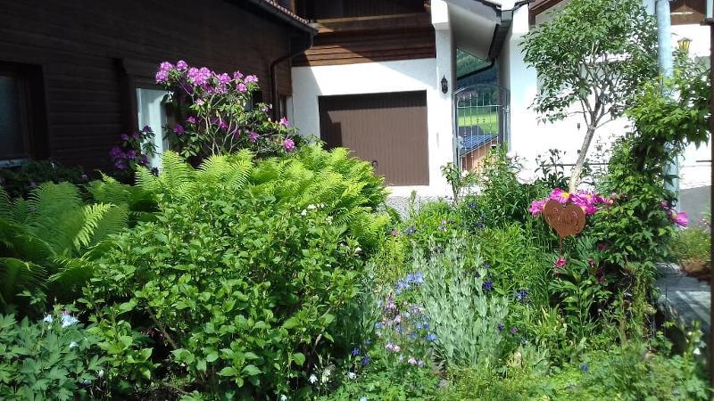 Vorgarten mit Zugang zur FeWo