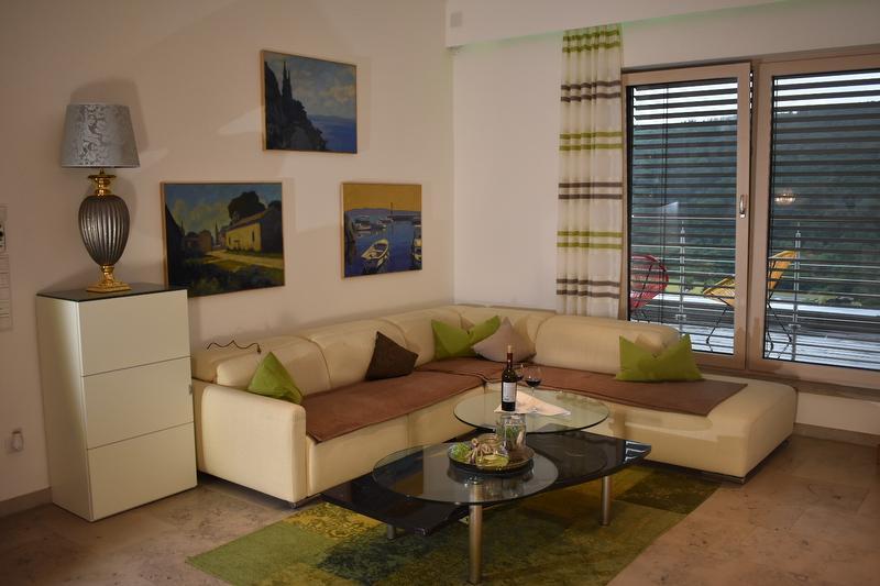 Wohnbereich Couch