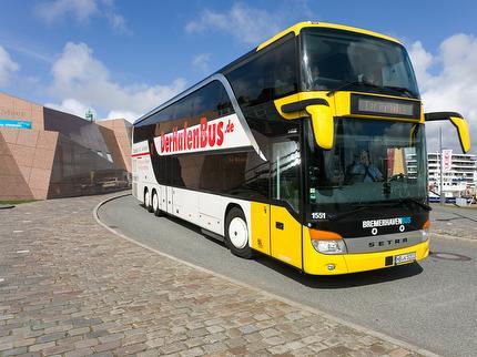 Ticket HafenBus 2021 Familie 1+1 (1 Erw. + 1 Kind)