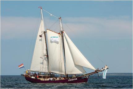 Ticket Halbtagestörn Sail-in (lütte Sail 2021)