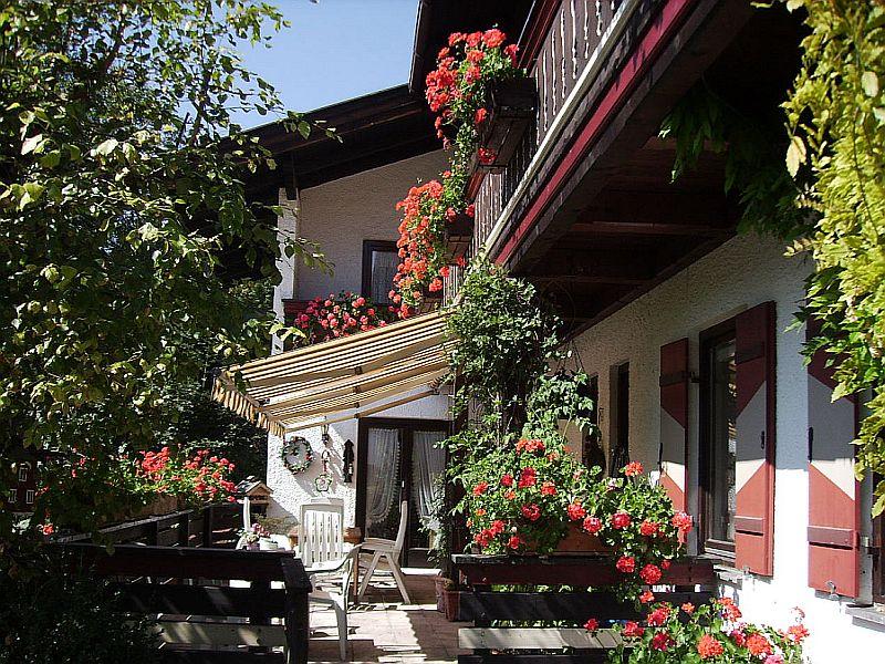 Ferienwohnung Gästehaus Eschenhof (DE Reit im Winkl). Ein-Raum-Appartement (7) 25 qm,  Dusche/WC, Minikü (709253), Reit im Winkl, Chiemgau, Bayern, Deutschland, Bild 6