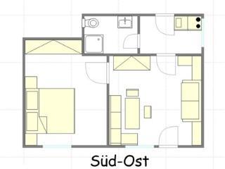 Appartement 1 Grundriss