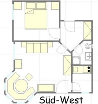 Appartement 2 Grundriss