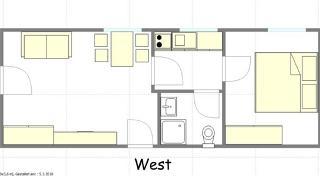 Appartement 3 Grundriss