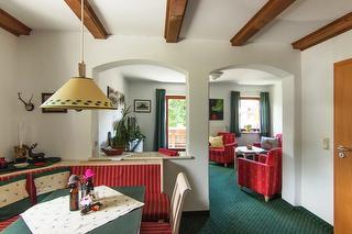 die komfortable Zwei-Raum-Wohnung