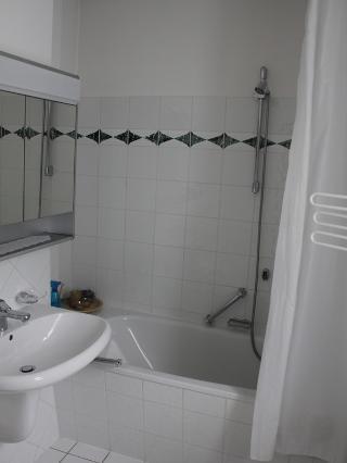 Küche Badezimmer Wohnbereich