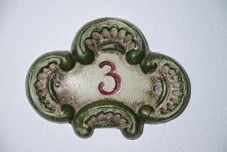 die Wohnung Nr. 3