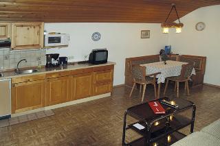 Wohnraum mit Küchenzeil