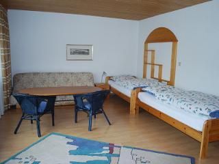 Ferienwohnung Zimmermann Schlafbereich