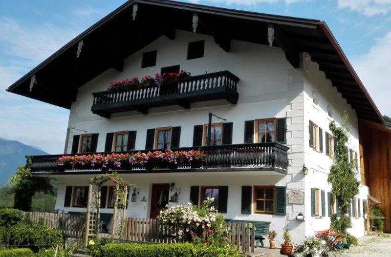 Ferienwohnung Berghof Moar (DE Unterwössen). Ferienwohnung Hochplatte 32 m², 2-3 Personen, Wohnküche, Sc (711443), Unterwössen, Chiemgau, Bayern, Deutschland, Bild 1