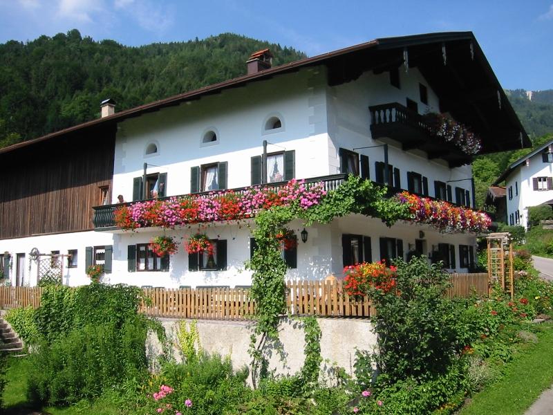 Ferienwohnung Berghof Moar (DE Unterwössen). Ferienwohnung Hochplatte 32 m², 2-3 Personen, Wohnküche, Sc (711443), Unterwössen, Chiemgau, Bayern, Deutschland, Bild 2