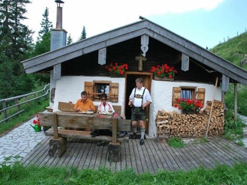 Ferienwohnung Berghof Moar (DE Unterwössen). Ferienwohnung Hochplatte 32 m², 2-3 Personen, Wohnküche, Sc (711443), Unterwössen, Chiemgau, Bayern, Deutschland, Bild 4