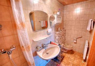 Ferienwohnung B Dusche WC
