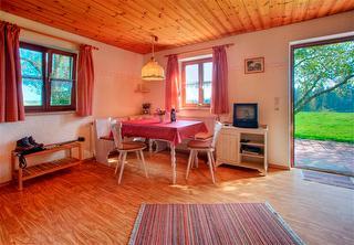 Ferienwohnung B Wohnküche