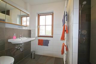 Badezimmer Ferienwohnung Hoamat