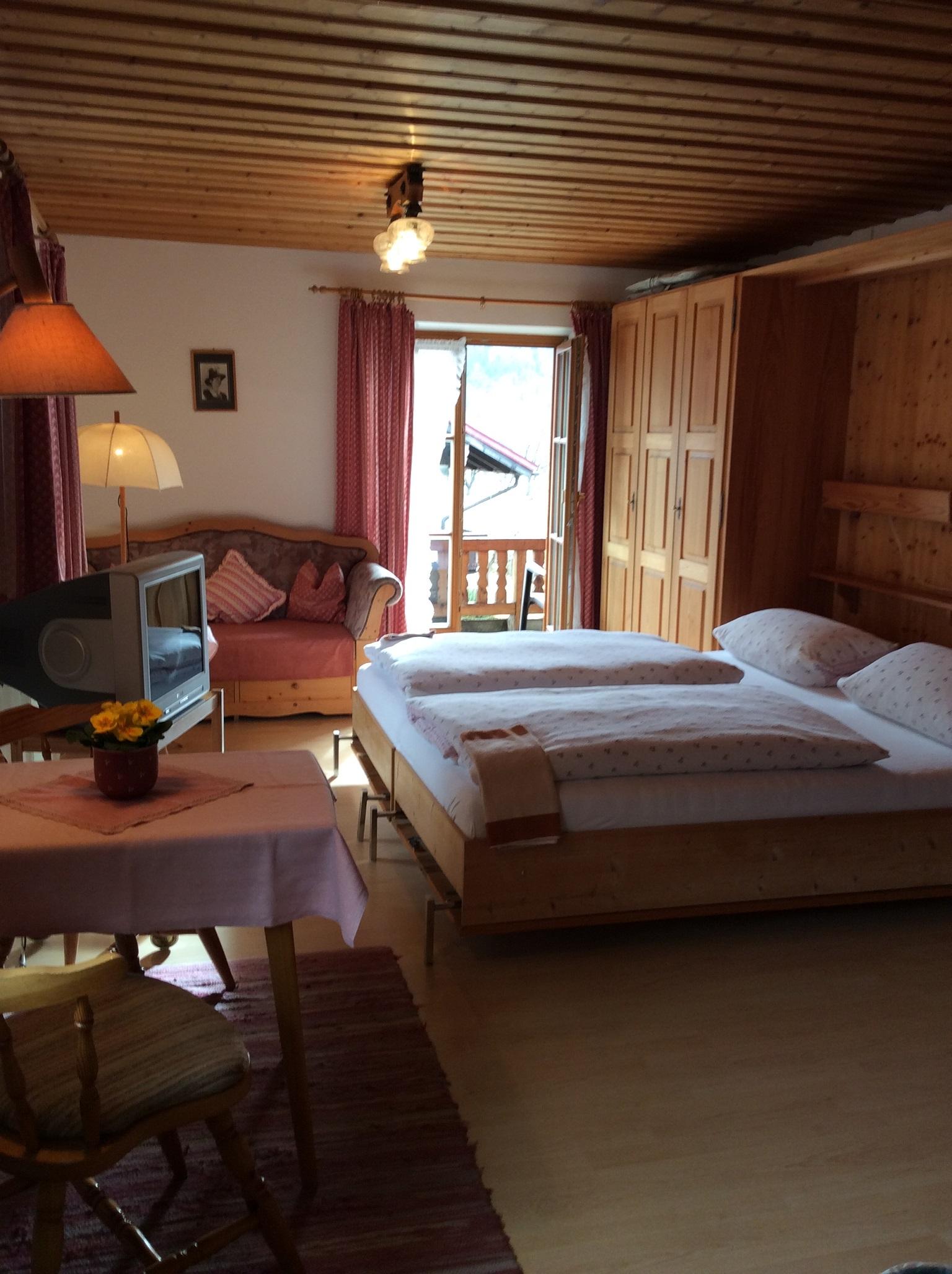 Ferienwohnung Gästehaus Hächer (DE Schleching). Ferienwohnung Nr. 1 bis 2 Pers., 32 qm Studio Achental (711548), Schleching, Chiemgau, Bayern, Deutschland, Bild 7