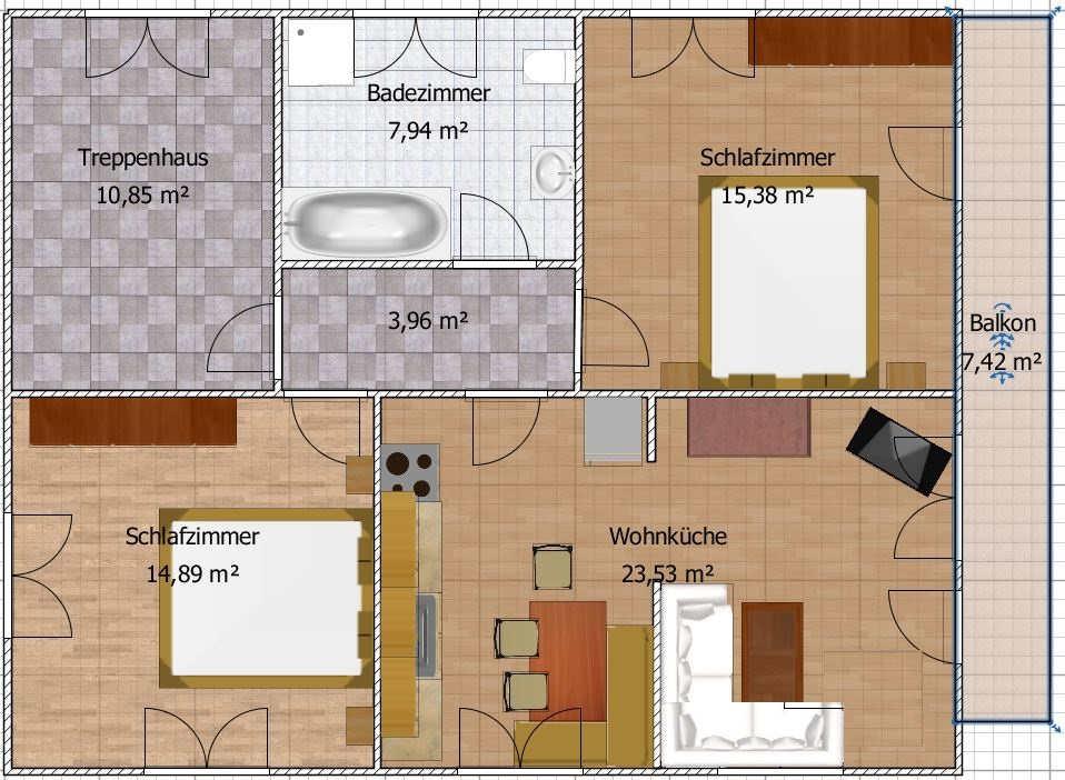 10 Qm Schlafzimmer | Haus Mooslechner De Anger Ferienwohnung 76 Qm Neubau