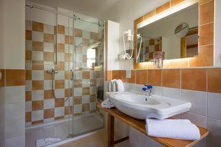 Badezimmer im Weissgeber's Bettstadl