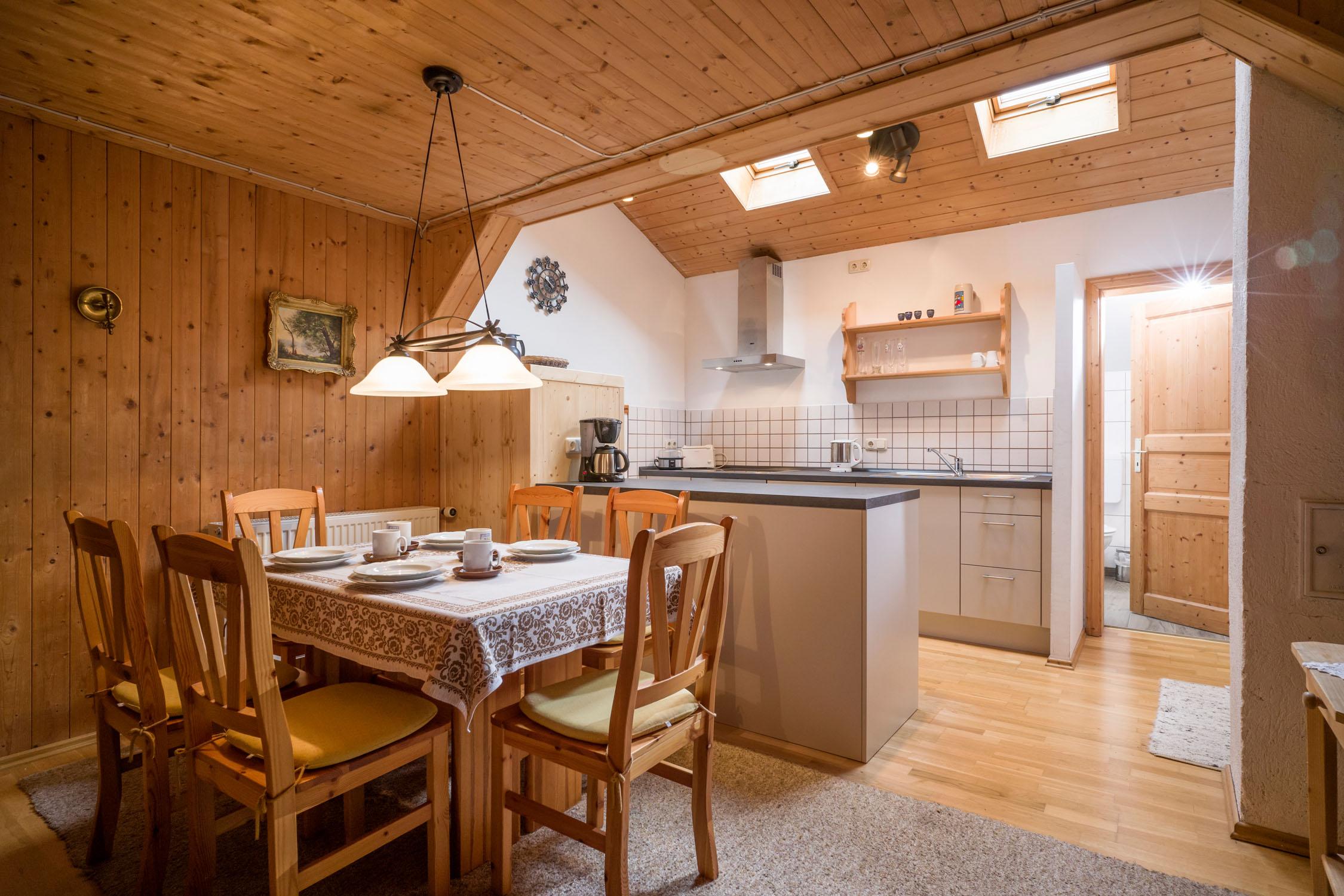 Ferienwohnung Bergbauernhof Hinterseebach (DE Oberaudorf). 6 Personen Ferienwohnung / Auerbach (709901), Oberaudorf, Chiemgau, Bayern, Deutschland, Bild 13