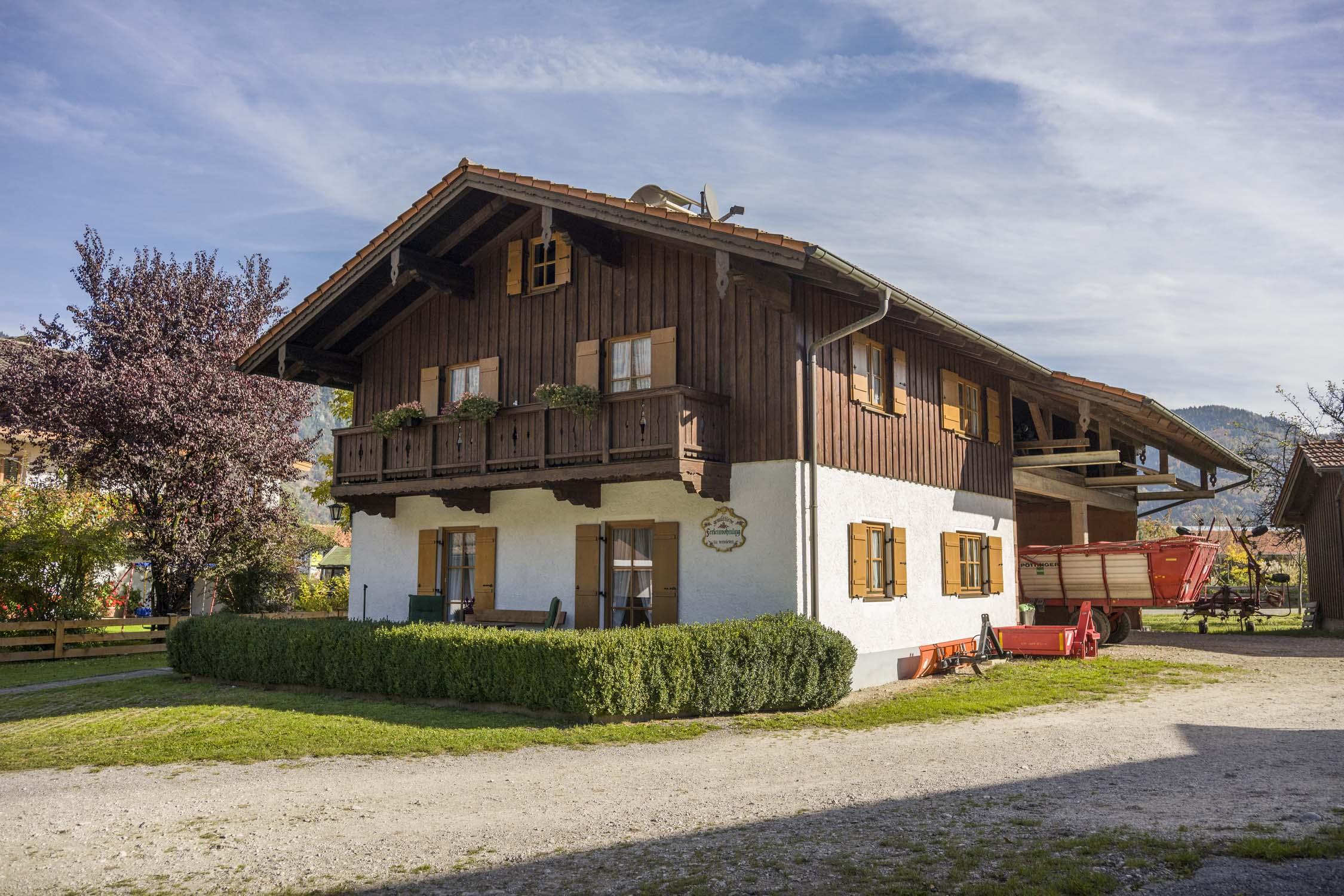 Ferienwohnung Christophenhof (DE Oberaudorf). 3-Zimmer Ferienwohnung Terrasse 1 (710004), Oberaudorf, Chiemgau, Bayern, Deutschland, Bild 1