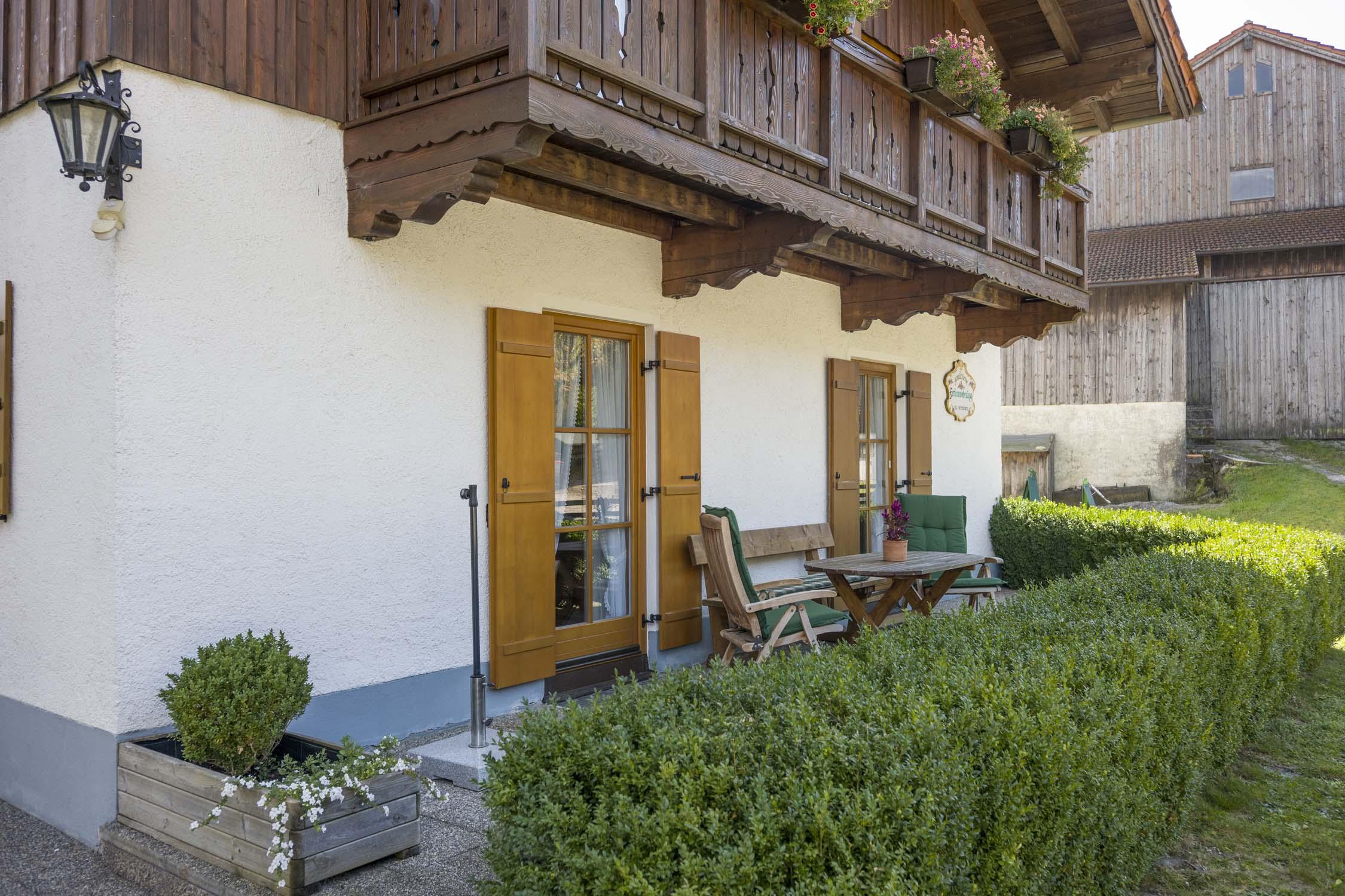 Ferienwohnung Christophenhof (DE Oberaudorf). 3-Zimmer Ferienwohnung Terrasse 1 (710004), Oberaudorf, Chiemgau, Bayern, Deutschland, Bild 2