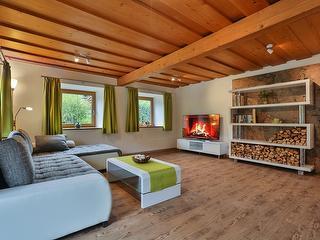 Wohnzimmer Ferienwohnung Berchtesgaden / Urheber: Josef Stöckl / Rechteinhaber: © Josef Stöckl