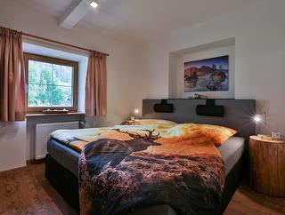Schlafzimmer Ferienwohnung Berchtesgaden / Urheber: Josef Stöckl