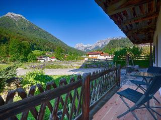 Terrasse Ferienwohnung Berchtesgaden / Urheber: Josef Stöckl / Rechteinhaber: © Josef Stöckl