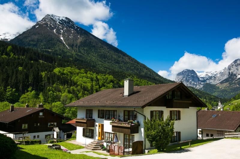 Haus am Forstamt 11 Ferienwohnungen (DE Ramsau). F Ferienwohnung in Deutschland
