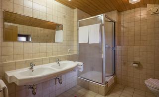Badezimmer in der Fewo Nr. 3