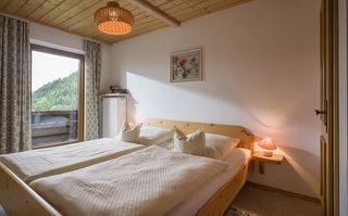 Schlafzimmer in der Fewo Nr. 3