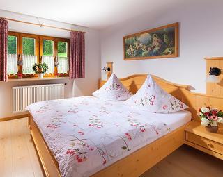 Schlafzimmer in der Ferienwohnung Barmstein