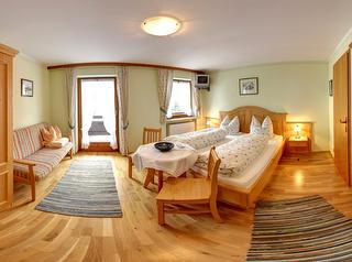 Doppelzimmer Gamskogel Panoramaansicht