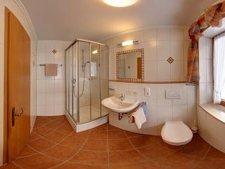 Badezimmer Panoramaansicht