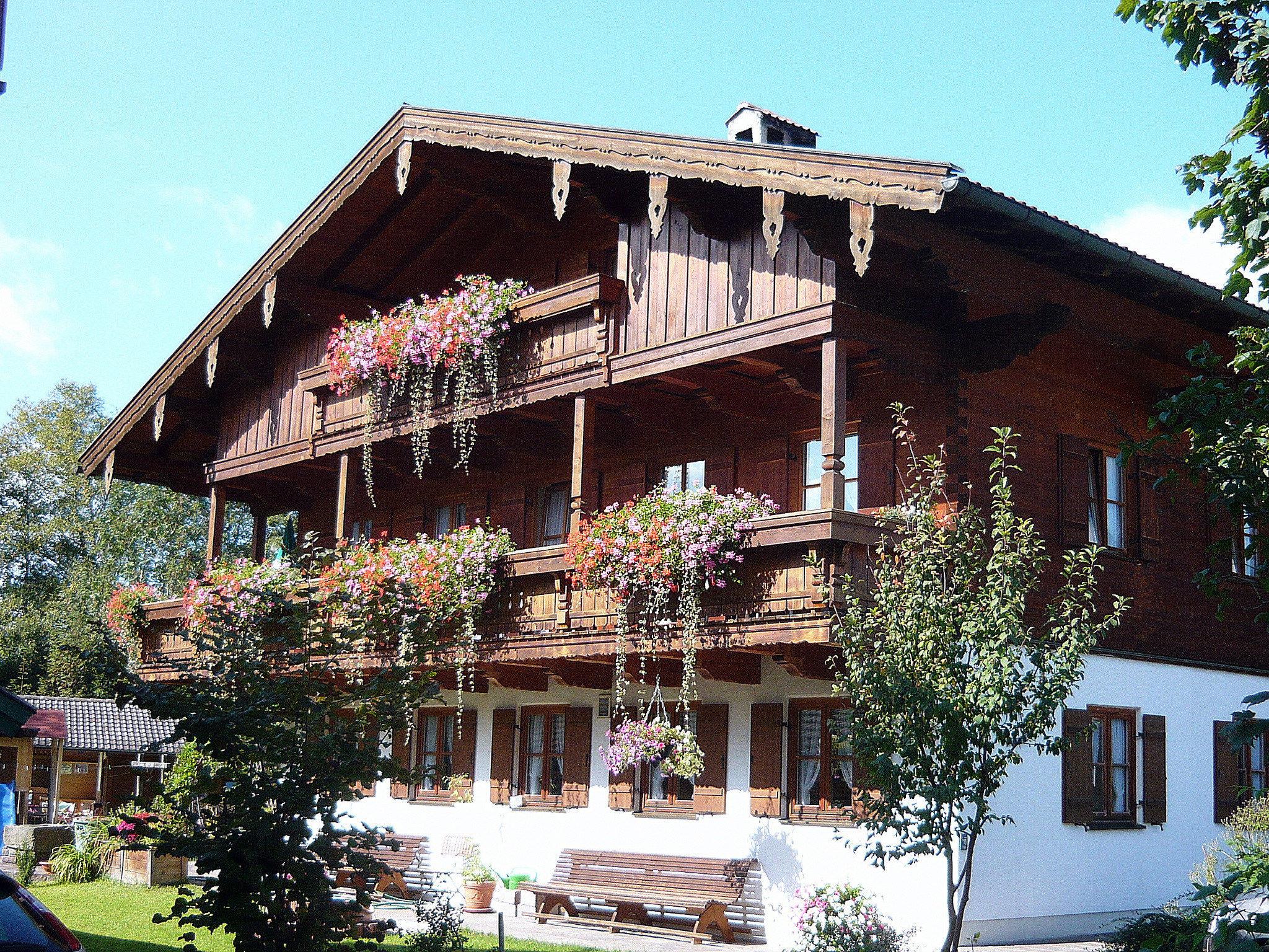 Appartement de vacances Gästehaus Kress - Chiemgau Karte (DE Inzell). Ferienwohnung 2 für 4 Personen, 1 Schlaf- un (712315), Inzell, Chiemgau, Bavière, Allemagne, image 4